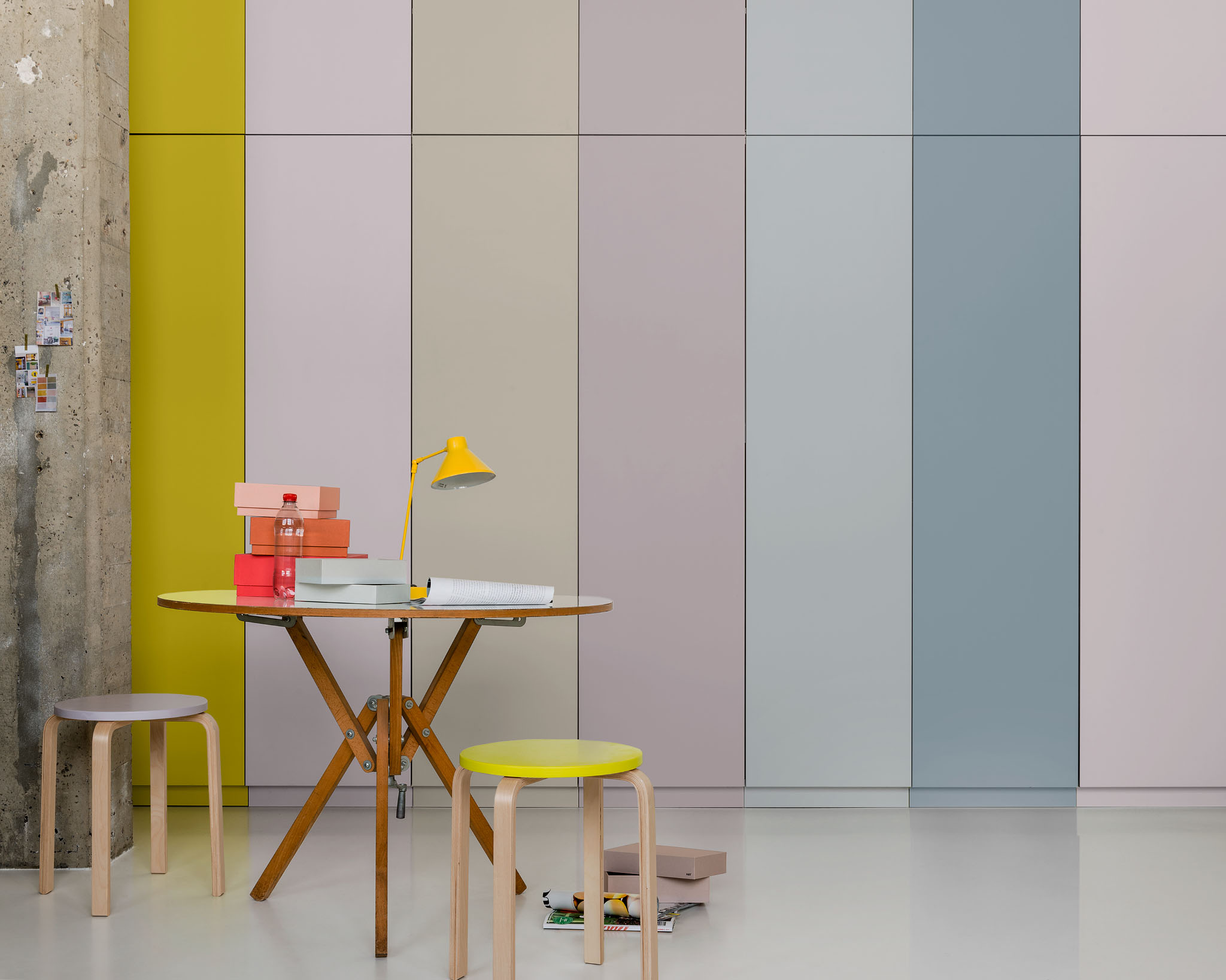 Create a colourful study space for your teenager