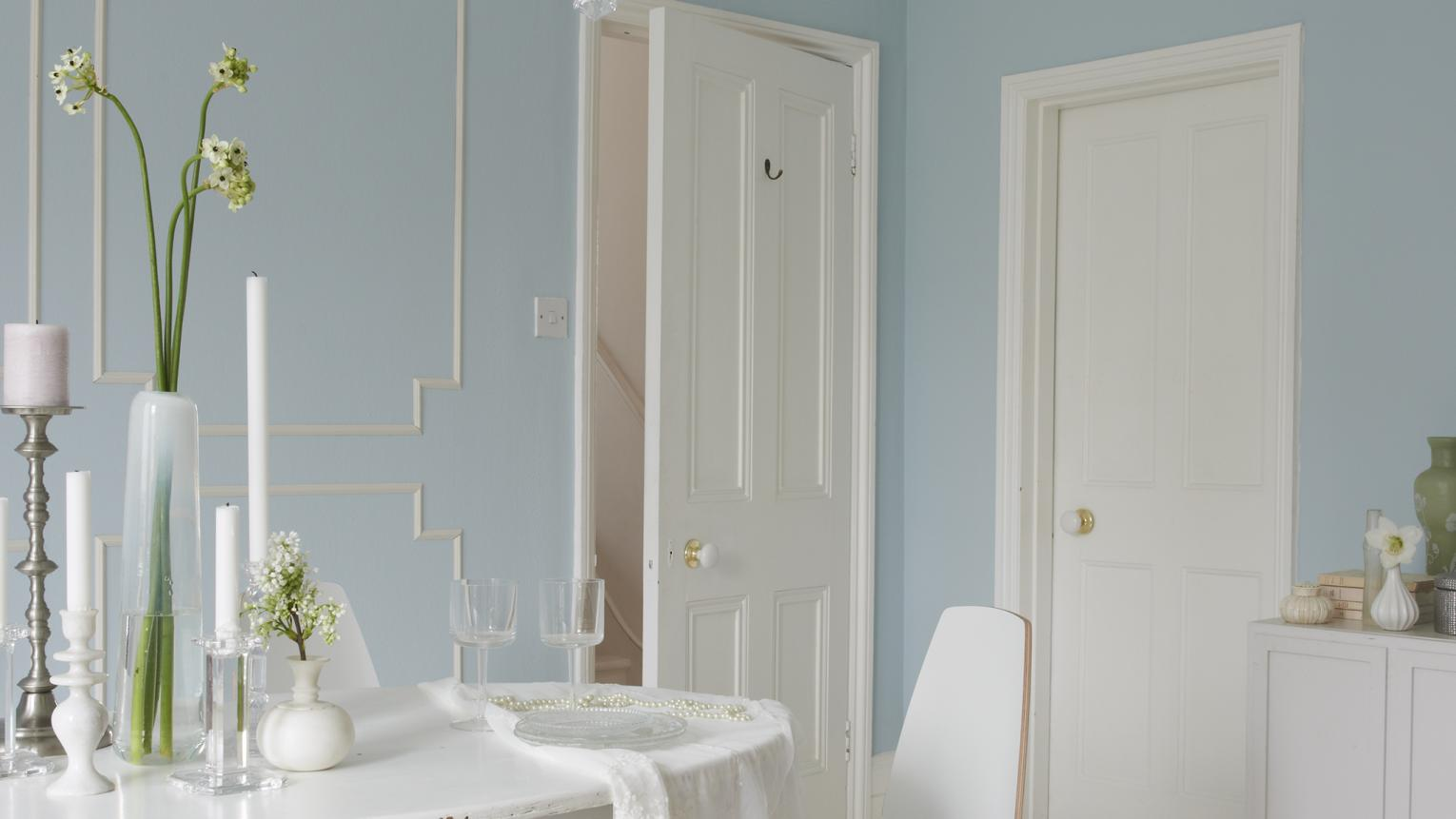 Learn how to create painted wall panels using wood mouldings. This is a great DIY project that can be achieved over a weekend.