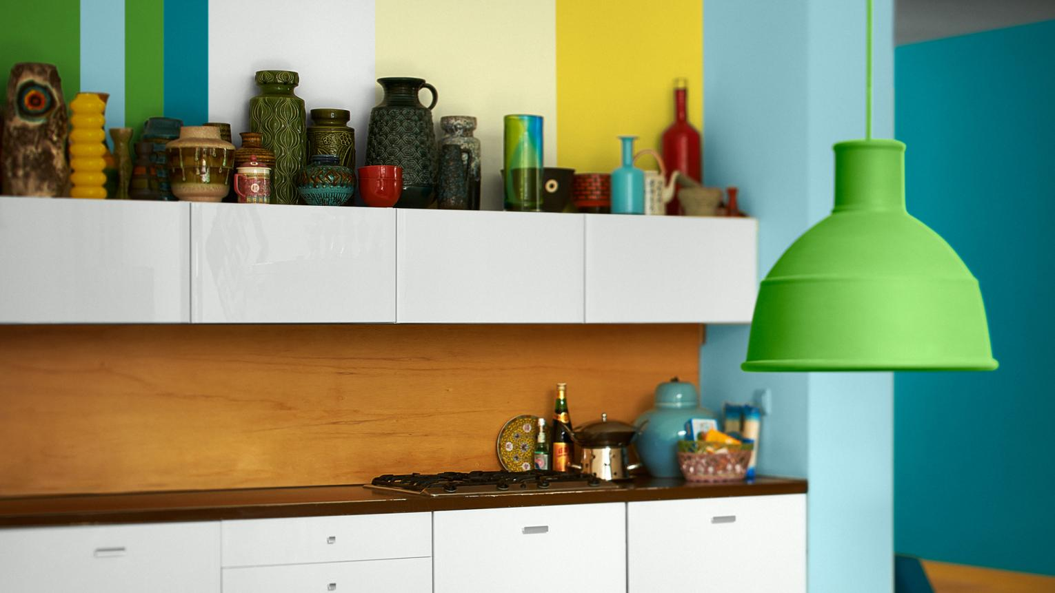 Bring colour and character to your home with contrasting colour combinations, clashing patterns and unexpected details.