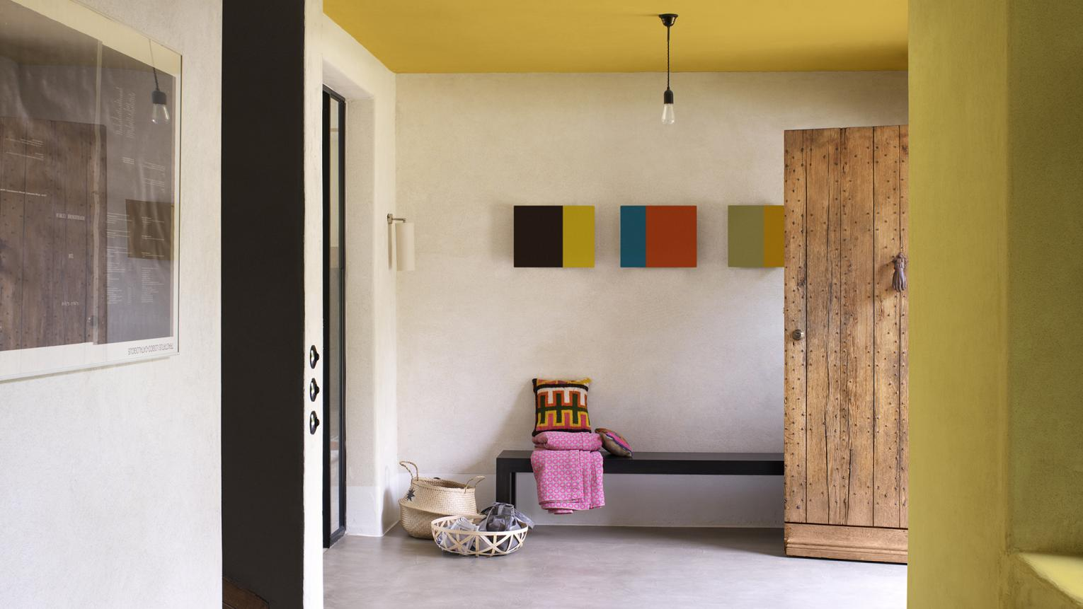 Make a statement in your hallway with daring colour combinations and bold décor ideas.