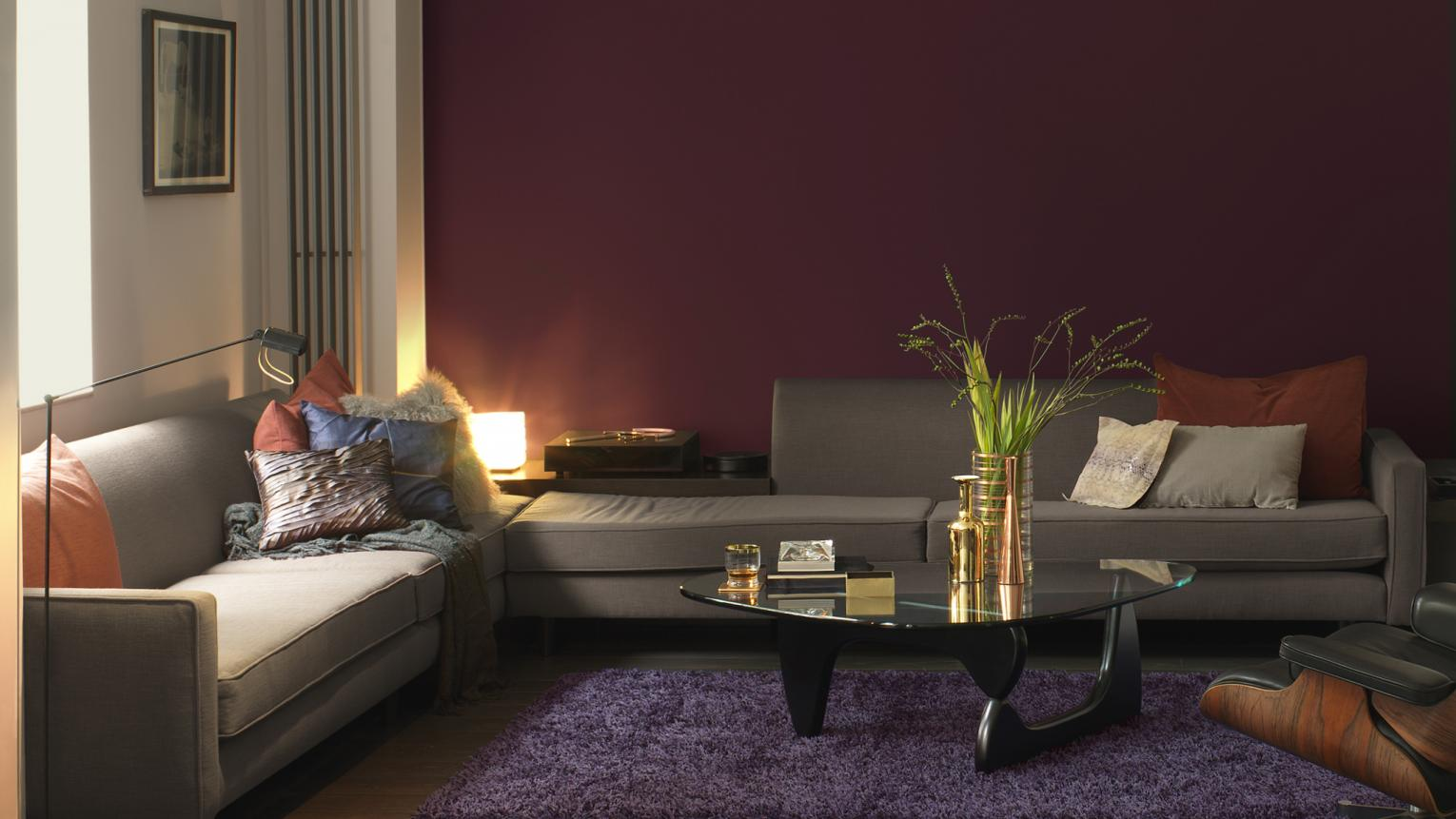 Choose deep, vibrant colours to create a living space that warms the heart.