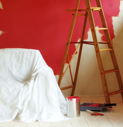 Decorating? Protect your carpet and furniture from paint splatters with these expert tips.