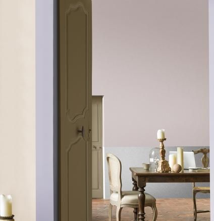 Love the soft purples found in the French countryside? Emulate the romantic feel of Provence by painting your home in violets and lilacs.