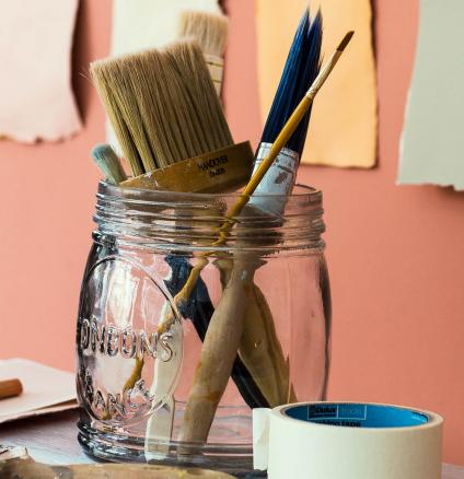 A lick of paint is an easy and affordable way to give a room an instant update.